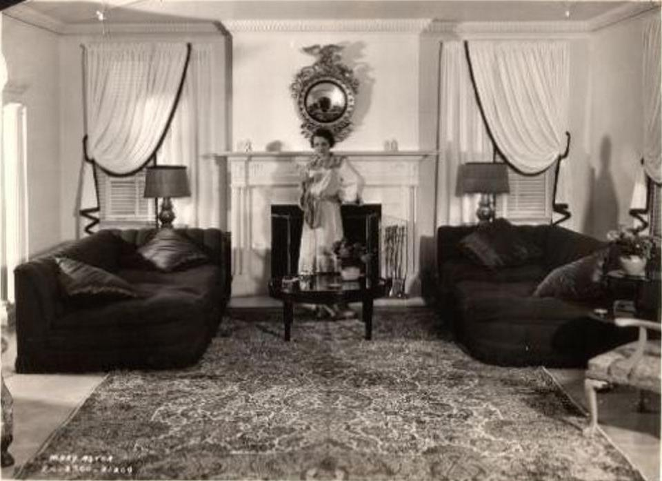 Homes 1940s The Mary Astor Collection