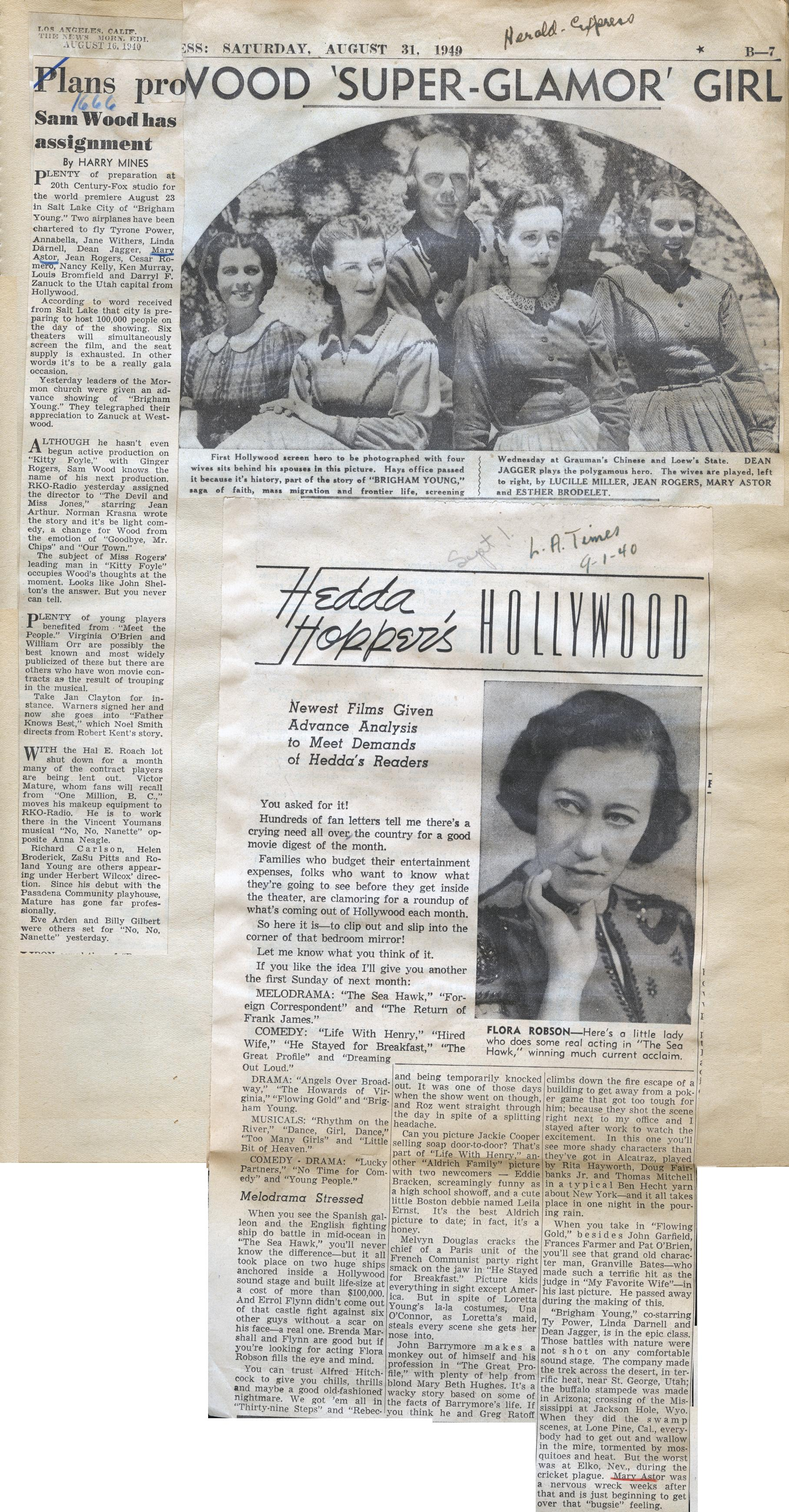 scrapbook (1940) - the mary astor collection